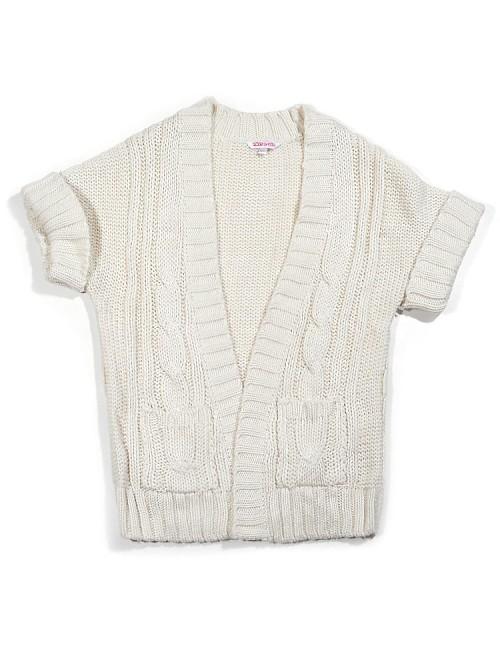 Sweter z krótkim rękawkiem