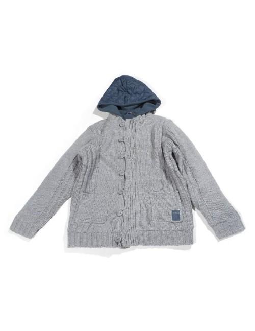 Sweter z kapturem