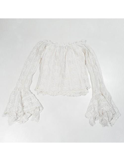 Bluzeczka z długim rękawem